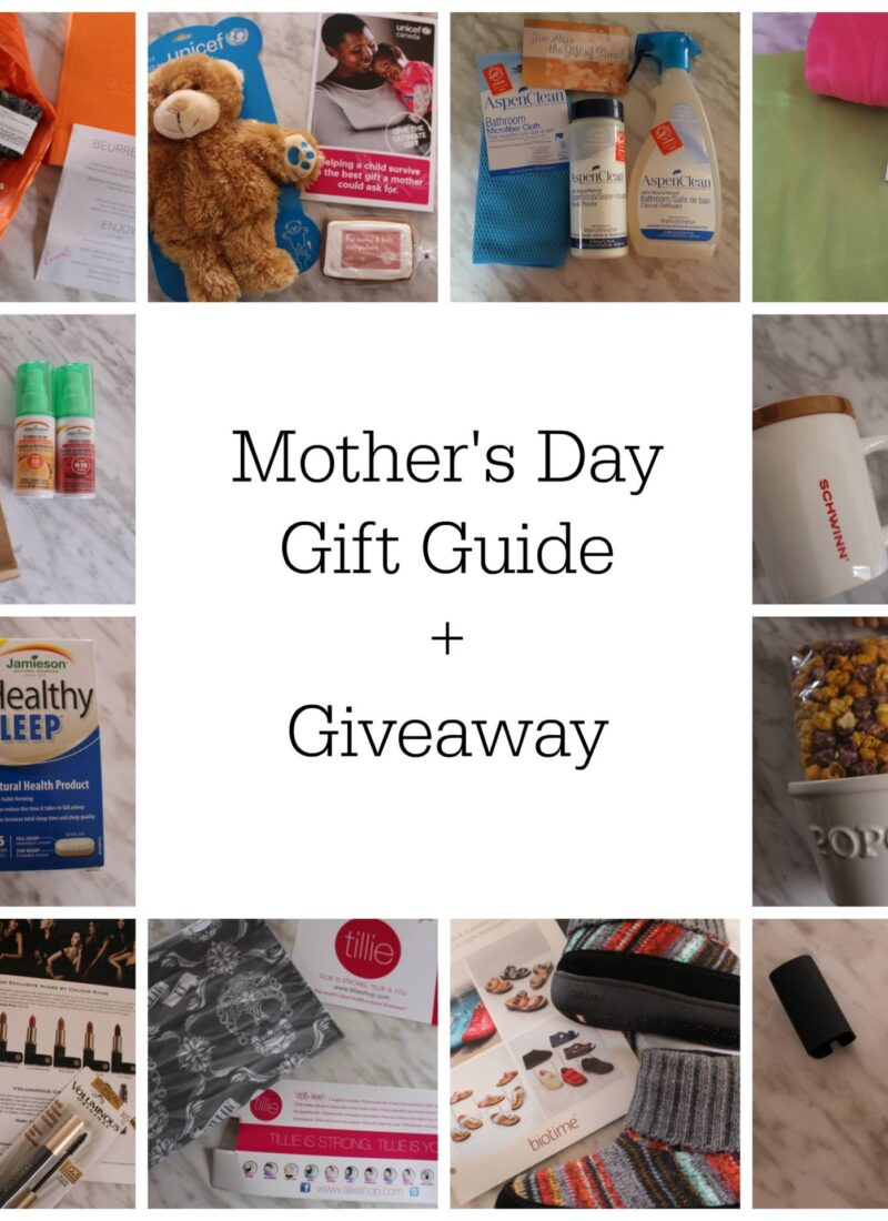 Mothers Day Gift Guide! Oh…And HUGE Giveaway!