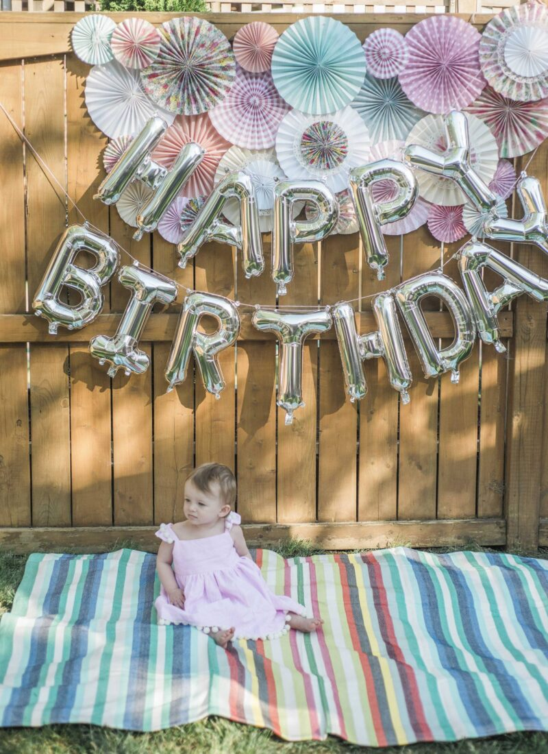 Zoë's Whimsical First Birthday – Part One