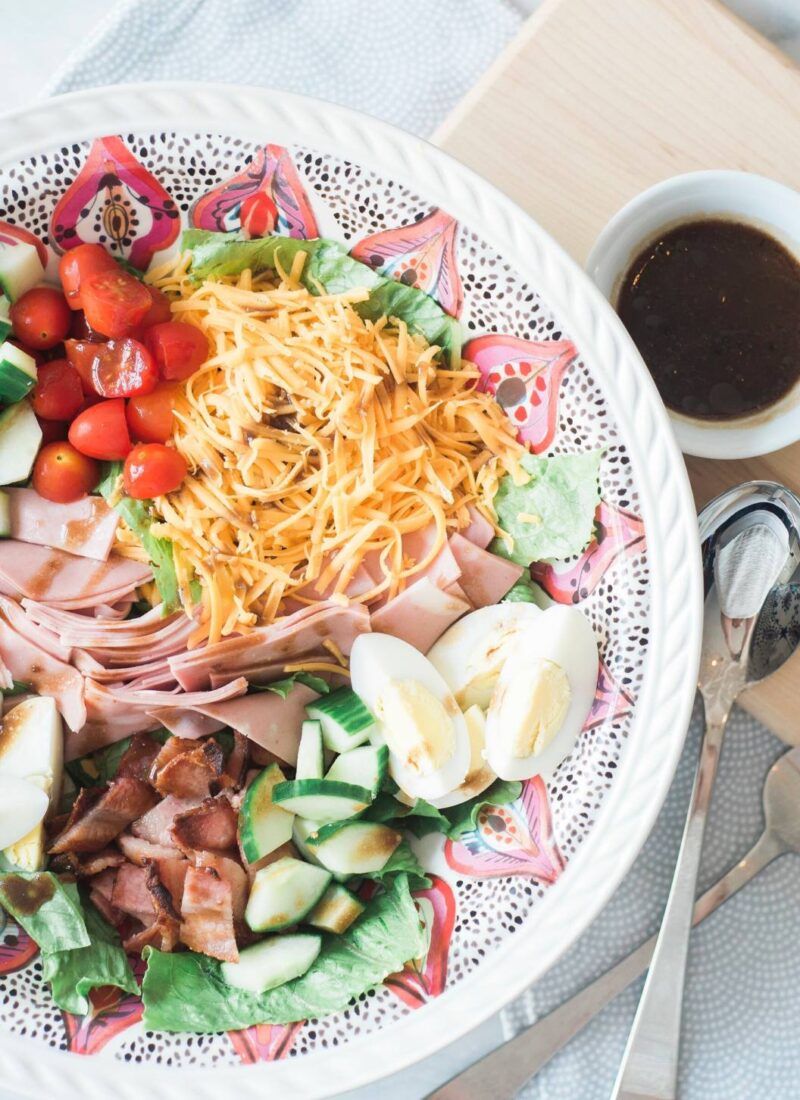 The Best Chefs Salad For Family Dinners