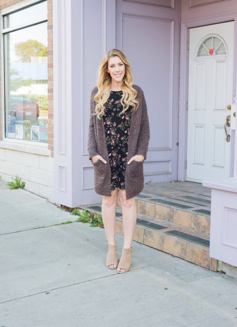 Trending: Florals for fall with George!