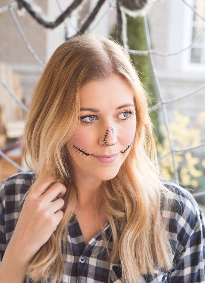 The easiest way to remove Halloween Makeup!