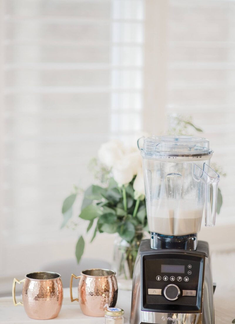 Vanilla Winter Spice Latte Recipe With Vitamix