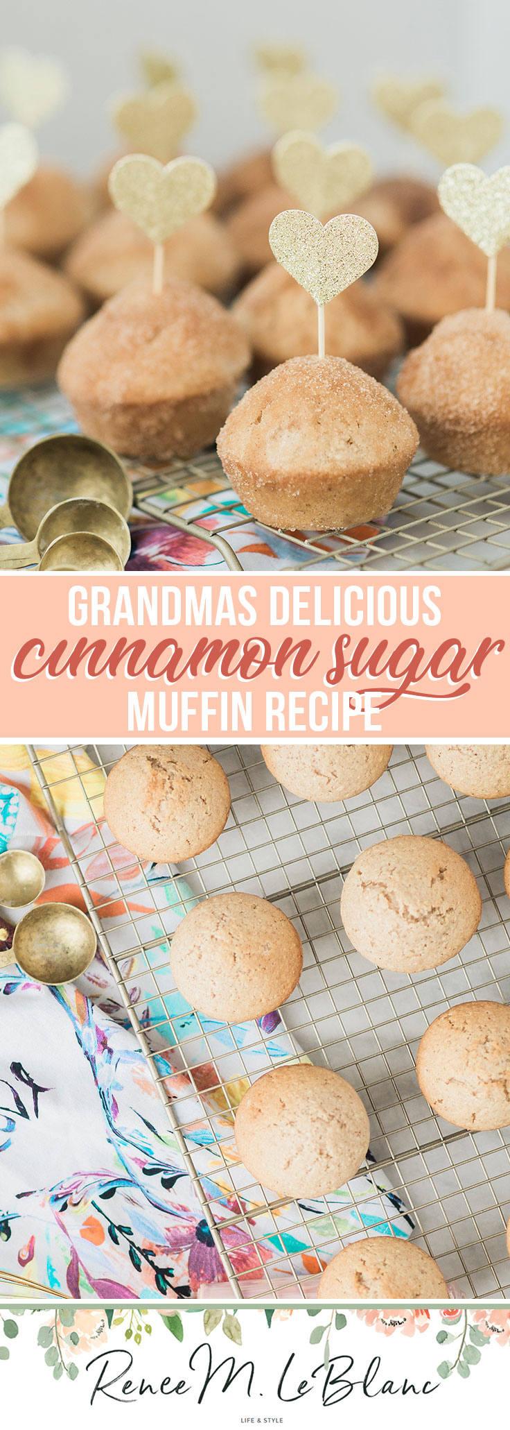 Grandmas World Famous Cinnamon Sugar Muffins!