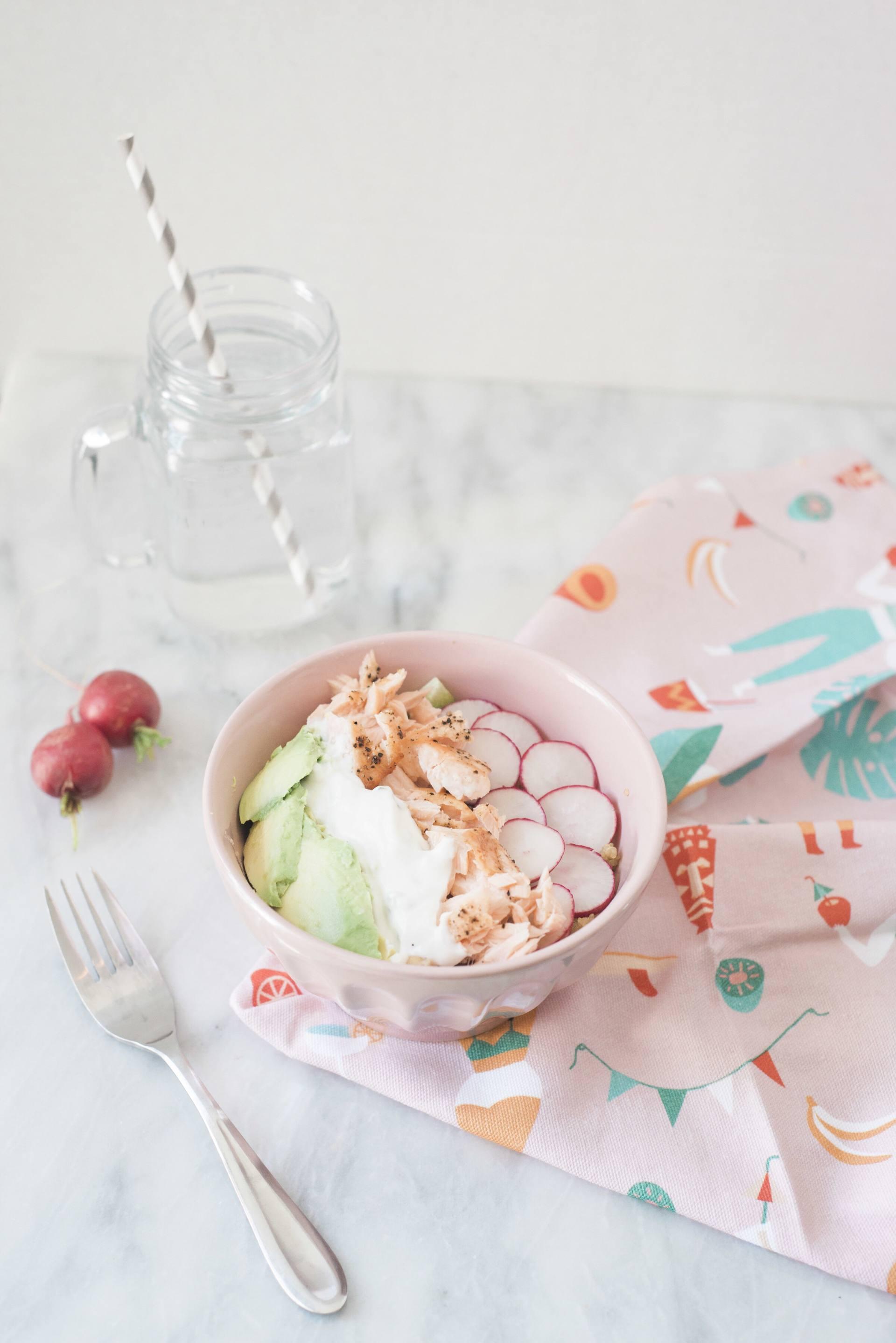 The Tastiest Summer Salmon Bowl Recipe