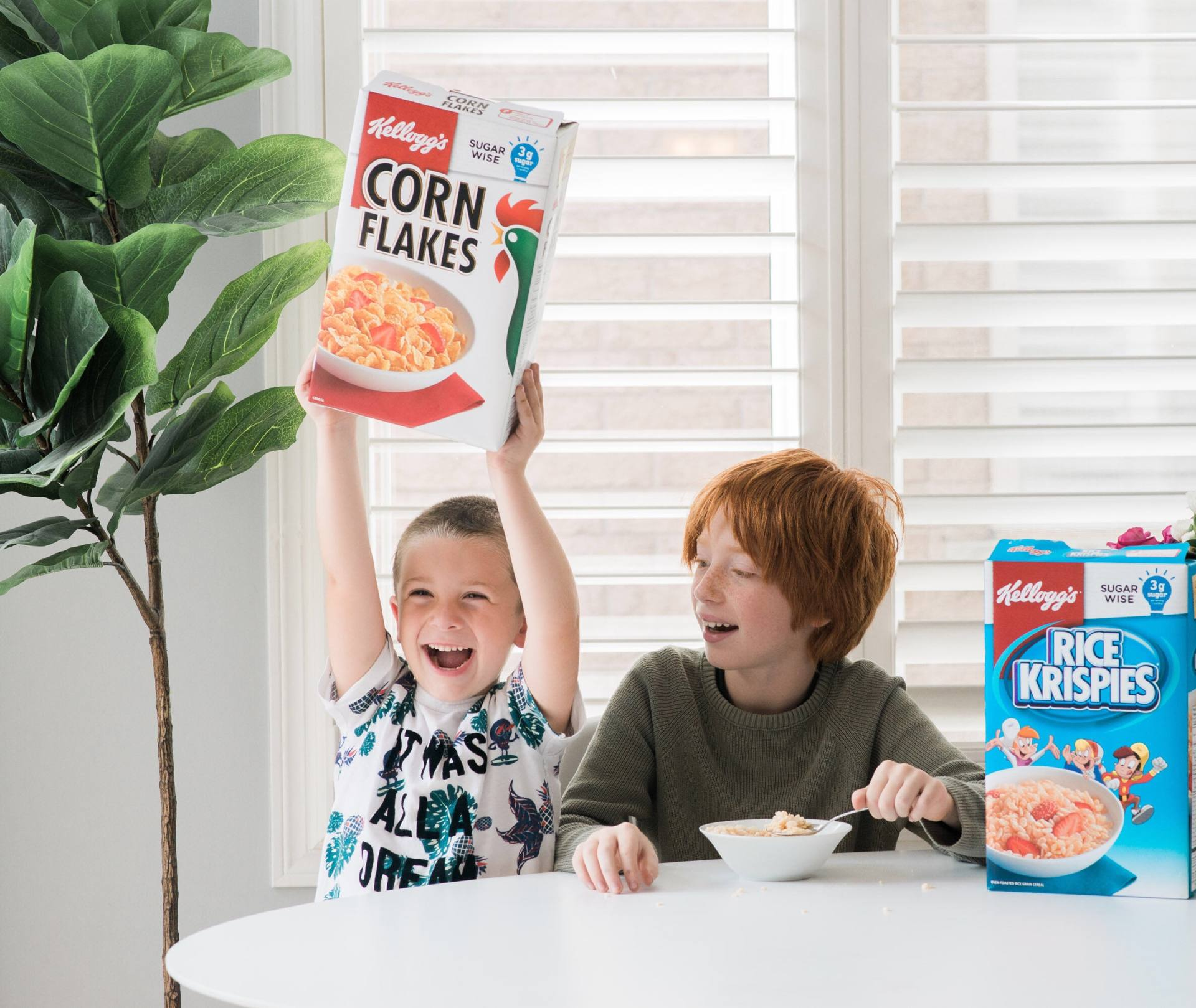 Easy Breakfast Ideas You Can Feel Good About Feeding To Your Kids #SugarWise #KelloggPartner